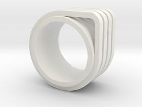 AVIV - Bauhaus TLV inspired in White Premium Versatile Plastic: 7 / 54
