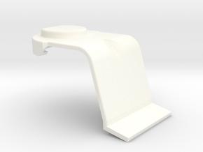 Lancia Delta Boot lock cover in White Processed Versatile Plastic