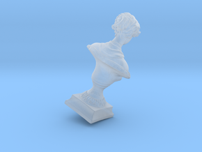 15 mm Height Diorama Sculpture in Smooth Fine Detail Plastic