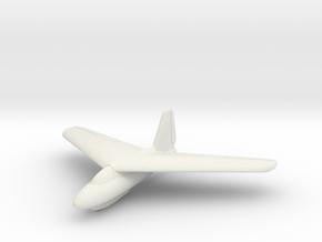 (1:144) Lippisch P.01-114 in White Natural Versatile Plastic