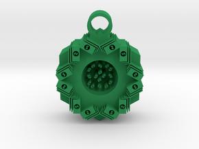 money stacks pendant in Green Processed Versatile Plastic