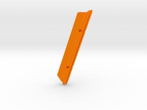 """6"""" slot:  Catalina 25 MastGate in Orange Processed Versatile Plastic"""