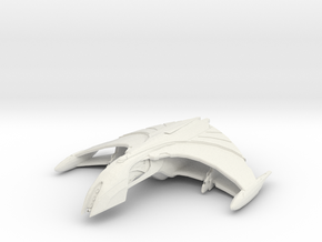 Romulan Ar'kala Tactical Warbird in White Natural Versatile Plastic