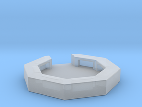 flak emplacement scale 1/285 in Smooth Fine Detail Plastic