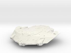 Type-9 Heavy in White Natural Versatile Plastic