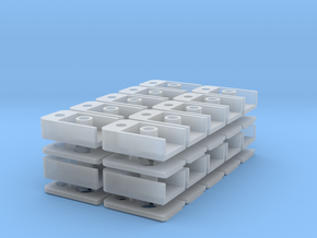 1015 MicroTrains Coupler Box (N - 1:160) 20X in Smoothest Fine Detail Plastic
