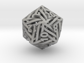 Helix d20 in Aluminum