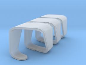 Miniature Modular Bench DNA - True Design in Smooth Fine Detail Plastic: 1:12
