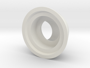 KV-1 final drive ball bearing inserts in White Natural Versatile Plastic