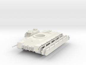 1/100 TVS Heavy Tank in White Natural Versatile Plastic