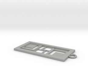 Geometrical pendant no.3 in Aluminum: Small