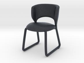 Miniature Duffy Chair - Calligaris in Black Professional Plastic: 1:12