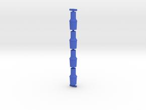 Antron Cuffs in Blue Processed Versatile Plastic