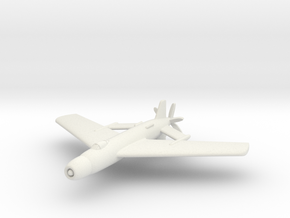 "(1:285) Focke-Wulf P.0310.025-1006 ""Victoria Tail"" in White Natural Versatile Plastic"