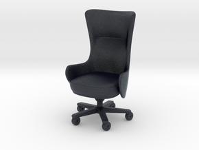 Miniature Task Chair Genius - Giorgetti Furniture in Black PA12: 1:12