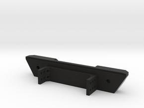 Narrow Rear Bumper for Gen7 in Black Natural Versatile Plastic