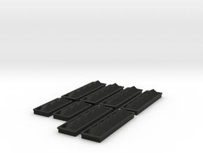 Engineroom ventilation Wellcraft SC38 in Black Premium Versatile Plastic: 1:8