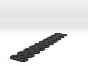 FD3, Titan Lite: Ir-anturin aluslevy in Black Natural Versatile Plastic
