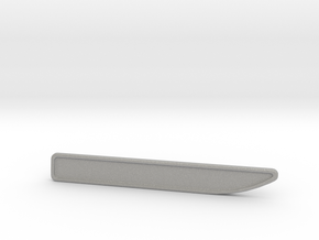 KOTFLUEGELEMBLEM_120MMX15MM_RECHTS in Aluminum: Large