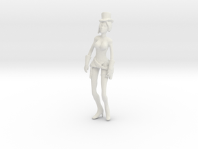 Printle V Femme 1066 - 1/32 - wob in White Natural Versatile Plastic