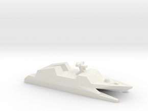 Type 022 missile boat, 1/1250 in White Natural Versatile Plastic