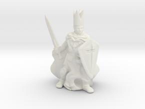S Scale Inquisitor in White Natural Versatile Plastic