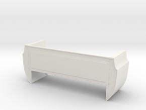 Bed Extension -13.9 In. Wheelbase for RC4WD Blazer in White Natural Versatile Plastic