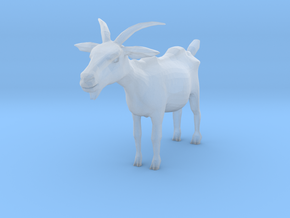 O Scale Goat in Smooth Fine Detail Plastic