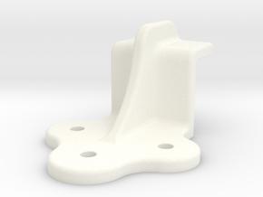 "D&RG End Door Guide - 2.5"" scale in White Processed Versatile Plastic"