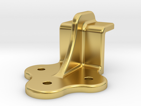 "D&RG End Door Guide - 2.5"" scale in Polished Brass"