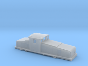 Swedish SJ electric locomotive type Hc - N-scale in Smooth Fine Detail Plastic