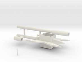 alpha trion staff in White Natural Versatile Plastic