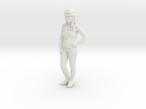 Printle C Femme 1123 - 1/32 - wob in White Natural Versatile Plastic