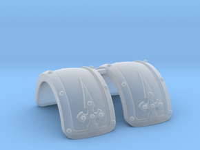 Extra Armor Thigh 2.0 in Smoothest Fine Detail Plastic