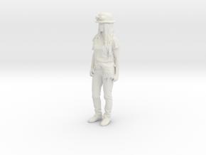 Printle C Femme 1129 - 1/32 - wob in White Natural Versatile Plastic