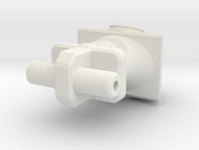 Dart Torso in White Natural Versatile Plastic
