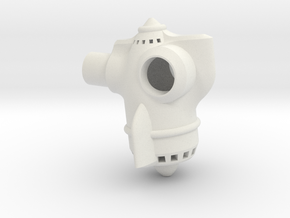 Dart Jet Pack in White Natural Versatile Plastic