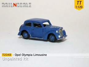 Opel Olympia Limousine (TT 1:120) in Smooth Fine Detail Plastic