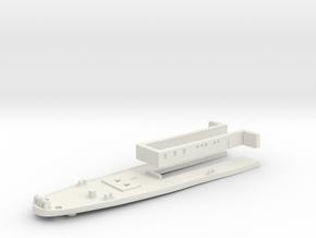 1/350 HMS Harrier Stern Deck in White Natural Versatile Plastic