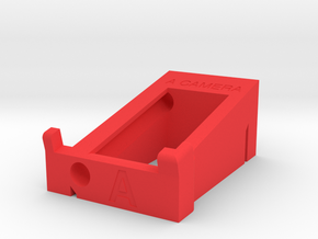"""A"" Camera Preston Single Channel Handset Cradle in Red Processed Versatile Plastic"