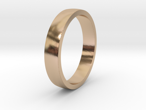 Simple Ring in 14k Rose Gold: 8.5 / 58