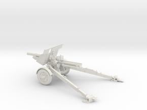 1/30 IJA Type 91 105mm Howitzer(motorized) in White Natural Versatile Plastic