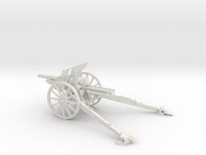 1/30 IJA Type 91 105mm Howitzer in White Natural Versatile Plastic