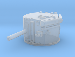 Lee CDL turret 1:144 in Smooth Fine Detail Plastic
