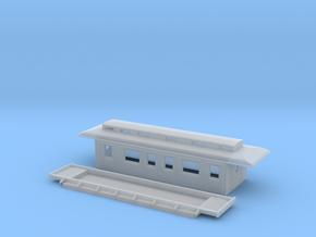 BC3 - Swedish passenger wagon in Smooth Fine Detail Plastic