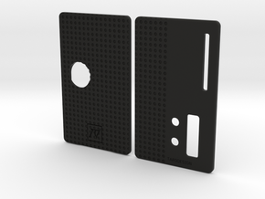 Sportello Billet Box Rev4  variante 6 in Black Natural Versatile Plastic