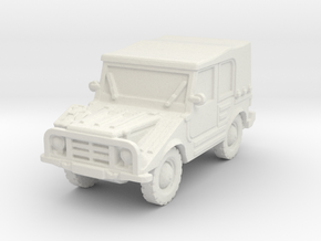 DKW Munga 6 scale 1/87 in White Natural Versatile Plastic