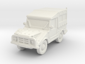 DKW Munga 8 scale 1/100 in White Natural Versatile Plastic