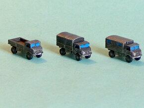 Unimog 404 Light Trucks 1/285 6mm in Smooth Fine Detail Plastic