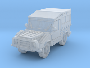 DKW Munga 8 scale 1/144 in Smooth Fine Detail Plastic
